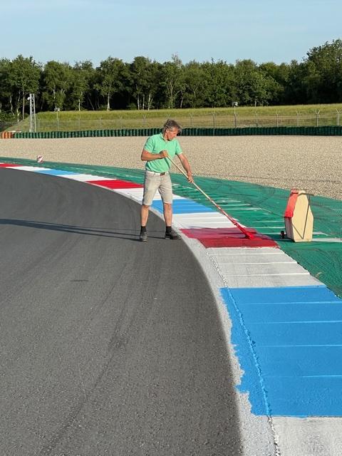 Verfklus  HHCombi op TT circuit