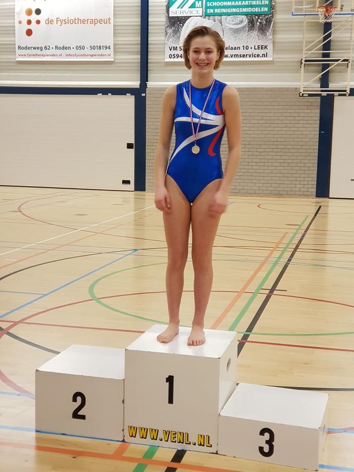 1e plaats voor Bianca Koerts