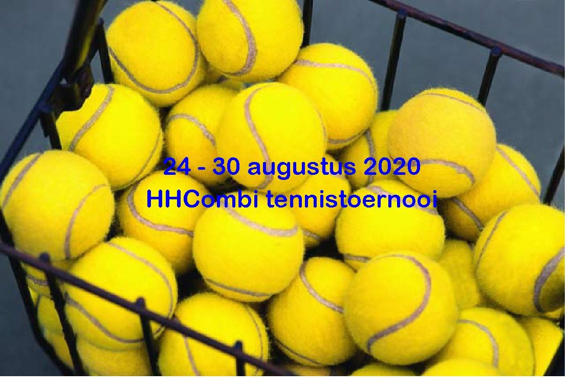 HHCombi Tennistoernooi 2020
