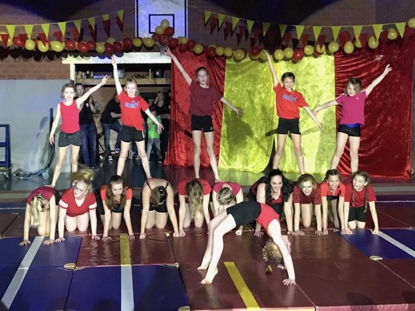 Gymnastiekuitvoering 2018