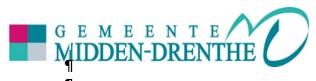 Informatie van Gemeente Midden-Drenthe