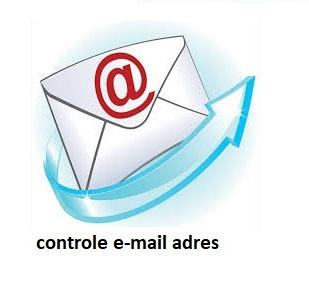 Controle e-mail adres