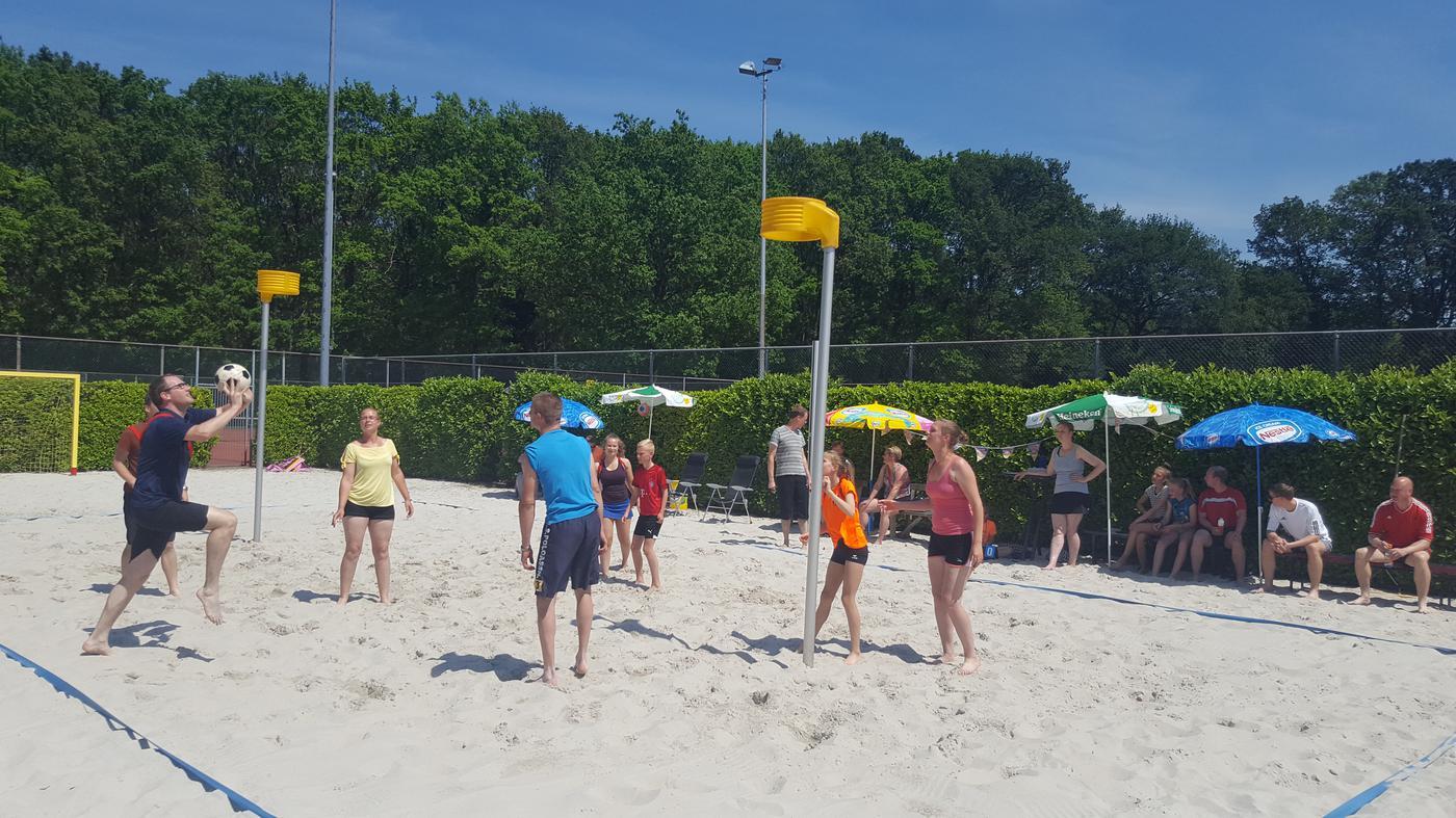 Beachkorfbal geslaagde seizoenafsluiter