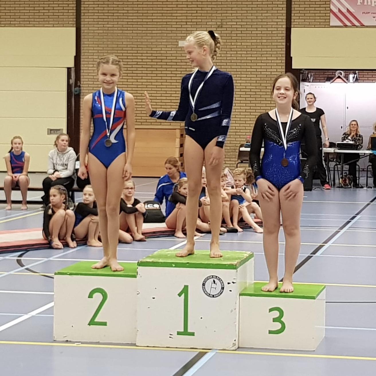 HHCombi in de prijzen bij Turnwedstrijd in Zuidwolde