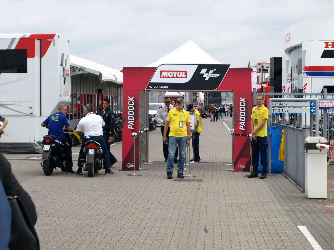 Toegangscontrole Dutch TT 2019