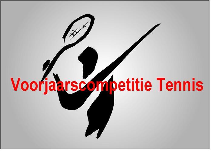 Meld je aan voor de voorjaarscompetitie tennis 2019