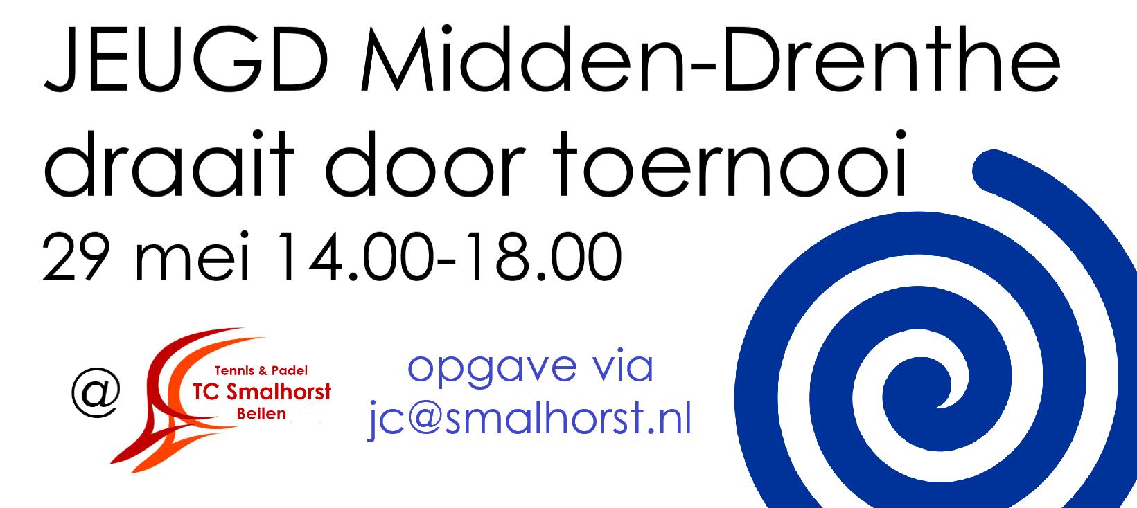 Tennis toernooi - Jeugd Midden-Drenthe