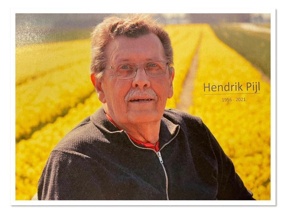 Overlijdensbericht Henk Pijl