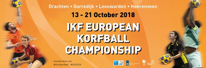 EK korfbal 13-21 oktober in Friesland